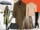 Как одеться в слякоть стильно: 4 образа для дождливого межсезонья