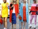 Как носить яркие цвета: более 60 ярких весенних образов