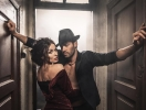 В ритме танго: Надежда Мейхер появилась в страстной фотосессии с тренером по аргентинскому танго