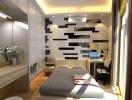 Как оформить интерьер малогабаритной спальни: ФОТО 40+