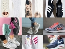 Как можно оригинально завязать шнурки на кроссовках: практические советы (фото и видео)