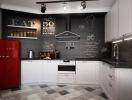 Как оформить интерьер кухни в белом цвете (лофт, модерн, классика, кантри, хай-тек). Фото 55+