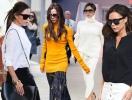 Одеться как звезда: 37 лучших осенних street style образов Виктории Бекхэм