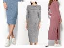 Утепляемся красиво: 20 стильных трикотажных платьев на осень