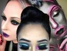 Засияем: неоновый макияж для вечеринок и фотосессий, как новый тренд из Инстаграма