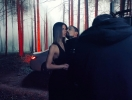 """Дима Билан устроил ночной """"аномальный"""" пожар в лесу: первые ФОТО со съемок нового клипа """"Лабиринты"""""""
