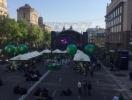 Евровидение-2017: в центре Киева открылась главная фан-зона конкурса Eurovision Village (ФОТО)