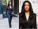 Строгая сексуальность: Ким Кардашьян восхитила деловым образом в Нью-Йорке (ФОТО)