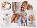 Прекрасная невеста: какой свадебный педикюр выбрать для невесты (+ВИДЕО)