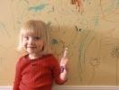 Рисование на стенах: как осуществить мечту ребенка