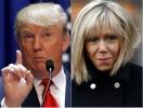 Дамский угодник: Дональд Трамп сделал комплимент 64-летней жене Эммануэля Макрон (ФОТО)