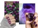 Осенний маникюр в фиолетовой гамме, который тебе нужно сделать прямо сейчас