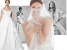 Свадьба зимой: небанальные платья и костюмы невесты