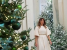Праздничное настроение: Мелания Трамп украсила Белый дом к Рождеству