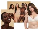 Обычные женщины с обычными телами в рекламной фотосессии косметического бренда