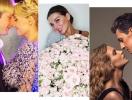 Как звезды отметили День влюбленных: Глюкоза, Анна Седокова, Виктория Бекхэм, Вера Брежнева, Майли Сайрус, Анастасия Волочкова и другие