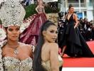 Золото богов: самые роскошные наряды бала Met Gala 2018