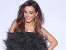 Ани Лорак продемонстрировала откровенное декольте в латексном платье (ФОТО)