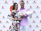 Анастасия Костенко и Дмитрий Тарасов отпраздновали крестины дочери (ФОТО)