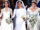 В Сети обсуждают свадебные платья принцессы Евгении, Кейт Миддлтон и Меган Маркл (ГОЛОСОВАНИЕ)