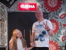 Дочь Евгения Кошевого спародировала отца и довела до слез его и весь зал (ВИДЕО)