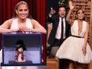 Вот это декольте: Дженнифер Лопес впечатлила роскошным образом (ФОТО)