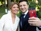 Елена Зеленская в стильном образе от украинского дизайнера поддержала мужа на инаугурации (ФОТО)