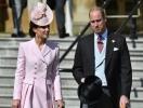 Кейт Миддлтон и принц Уильям посетили официальное мероприятие в Букингемском саду (ФОТО)