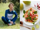 Вкусная ПП-идея для завтрака: салат из куриной грудки и помело от Марины Боржемской