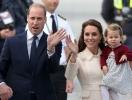 Семья Кембриджских в полном составе на параде в честь Елизаветы II: Кейт Миддлтон, принц Уильям, Луи, Шарлотта, Джордж (ФОТО)