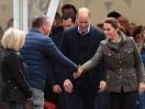 Кейт Миддлон и принц Уильям прибыли с визитом в Камбрию (ФОТО)