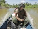 4 дня на водах Амазонии: Дмитрий Комаров стал первым в мире журналистом, попавшим к дикарям Яномами