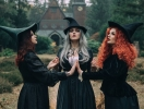 Шарм в простоте: полноценные образы на Хэллоуин с помощью головного убора