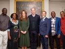 Герцоги Кембриджские пообщались с финалистами премии Tusk Conservation Awards (ФОТО)