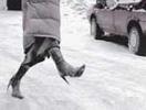 Гололед: мягкая посадка. Как ходить, чтобы не падать