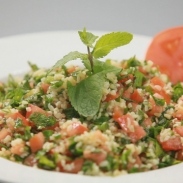 Ливанский салат с булгуром
