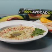 Хумус с маслом авокадо. Видео-рецепт