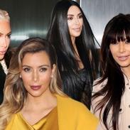 День рождения Ким Кардашьян: как менялись стрижка и цвет волос теледивы за последние 10 лет