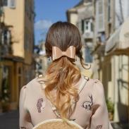 Модная прическа на лето 2018: хвост