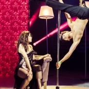 Женя Кот показал, как тренировал невероятный трюк на пилоне для 7-го эфира шоу