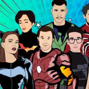 Звезды рассказали о своих любимых персонажах комиксов: Сергей Бабкин, Анна Завальская, Дима Каднай и другие
