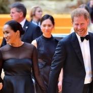 Меган Маркл и принц Гарри посетили премьеру фильма
