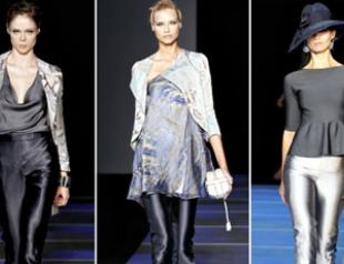 Показ Giorgio Armani на Миланской неделе моды. ФОТО