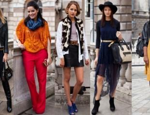 """Уличные """"луки"""" Лондонской недели моды"""