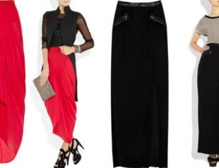 Гид по стилю: с чем носить макси-юбку