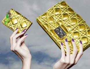 Новая коллекция сумок от Christian Dior