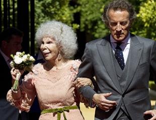 85-летняя герцогиня Альба вышла замуж