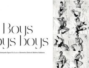 Dolce & Gabbana показали идеальных мужчин