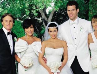 Эксклюзивное видео со свадьбы Ким Кардашьян