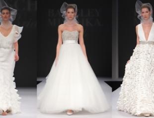 Свадебные платья Badgley Mischka весна-2012